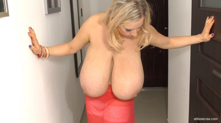 Abbi in red - screen grabs