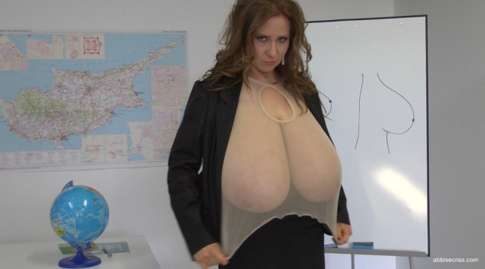 Coming soon: Your school mistress breasts