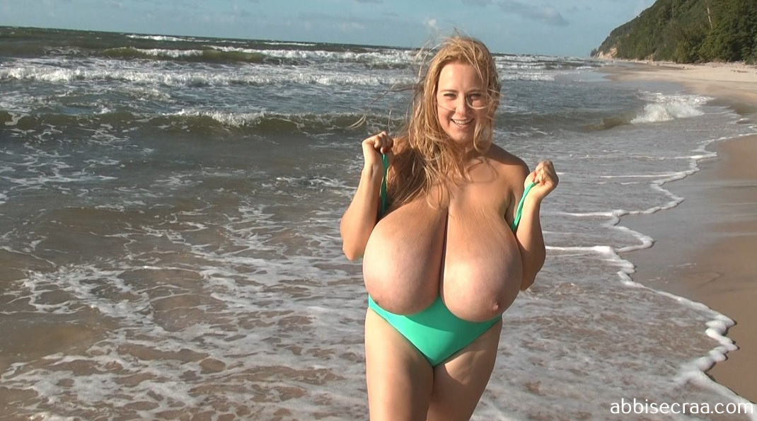 Busty beauty and beach  - movie
