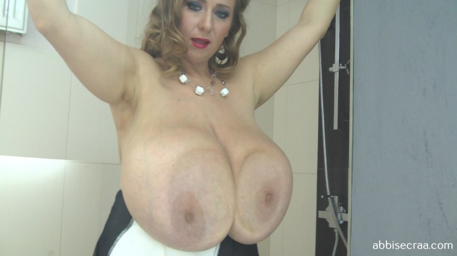 Manager with very large breasts - movie