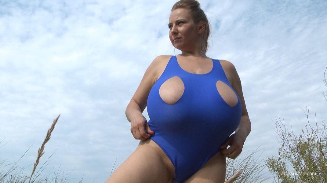 Blue swimsuit - screen grabs