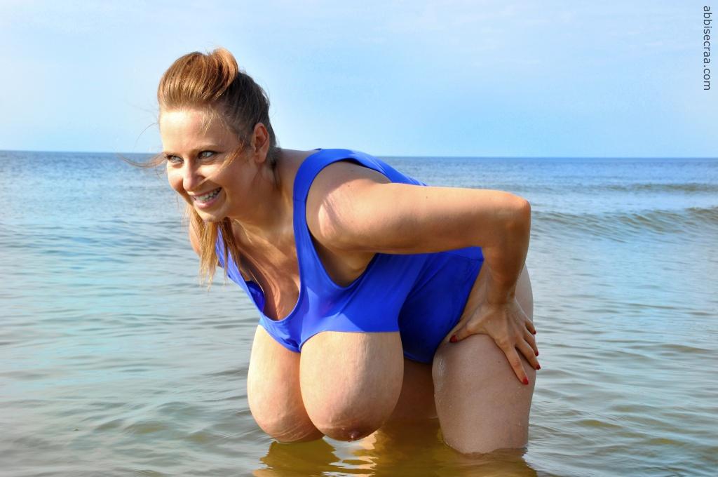 Blue swimsuit - photos